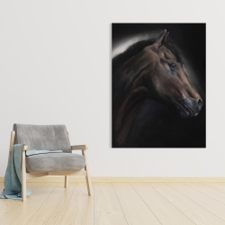 Canvas 36 x 48 - Loneliness horse