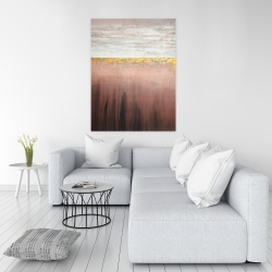 Canvas 36 x 48 - Golden pink