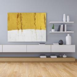 Canvas 36 x 48 - Golden stripe