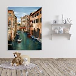 Canvas 36 x 48 - Magical venice canal