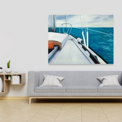 Canvas 36 x 48 - Sail on the water
