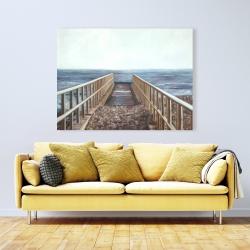 Canvas 36 x 48 - Relaxing beach