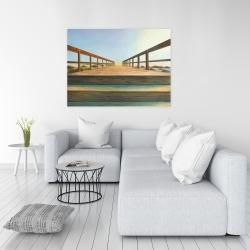 Canvas 36 x 48 - Footbridge