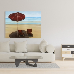 Canvas 36 x 48 - Relax at the beach