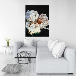 Canvas 36 x 48 - Blooming peonies