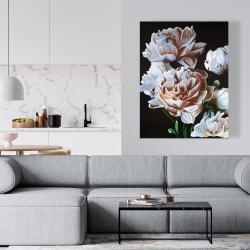 Canvas 36 x 48 - Peonies