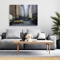 Canvas 36 x 48 - In the city