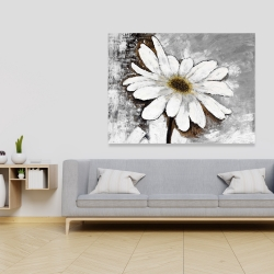 Canvas 36 x 48 - Abstract daisy