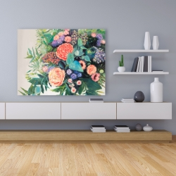 Canvas 36 x 48 - Flowers melody