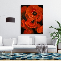 Canvas 36 x 48 - Poppy bouquet