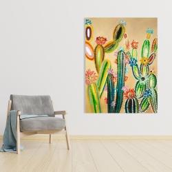 Canvas 36 x 48 - Desert gems