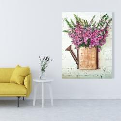 Canvas 36 x 48 - Purple foxglove flowers