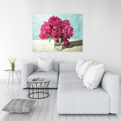 Canvas 36 x 48 - Fuchsia peony