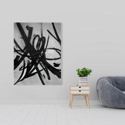 Canvas 36 x 48 - Circular strokes