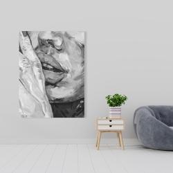 Canvas 36 x 48 - Luscious lips