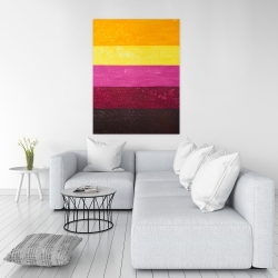 Canvas 36 x 48 - Live stripes