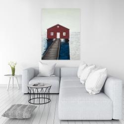 Canvas 36 x 48 - Boathouse