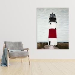 Canvas 36 x 48 - Sankaty head lighthouse