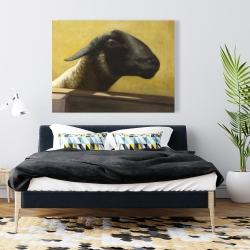 Canvas 36 x 48 - Young ram