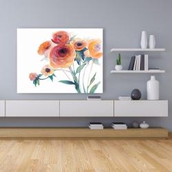 Canvas 36 x 48 - Watercolor flowers