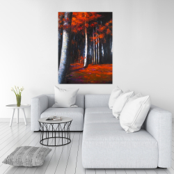 Canvas 36 x 48 - Mysterious forest