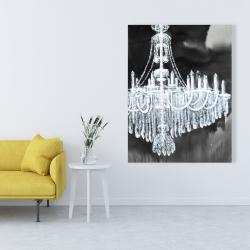 Canvas 36 x 48 - Glam chandelier