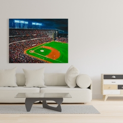 Canvas 36 x 48 - Baseball game