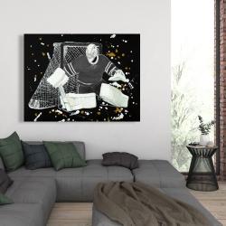 Canvas 36 x 48 - Goalkeeper hockey