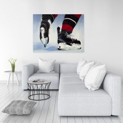 Canvas 36 x 48 - Hockey player