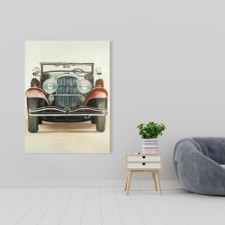 Canvas 36 x 48 - Old 1920s luxury car