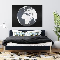 Canvas 36 x 48 - Earth