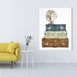 Canvas 36 x 48 - Go around the world