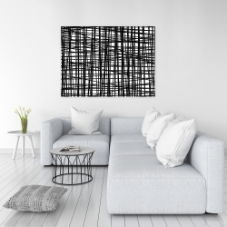 Canvas 36 x 48 - Abstract small stripes