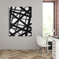 Canvas 36 x 48 - Abstract bold lines