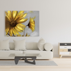 Canvas 36 x 48 - Mountain arnica flowers