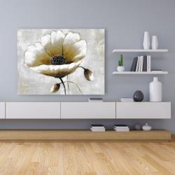 Canvas 36 x 48 - Modern beige flower