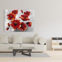 Canvas 36 x 48 - Anemone flowers