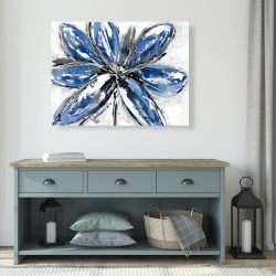 Canvas 36 x 48 - Blue petal