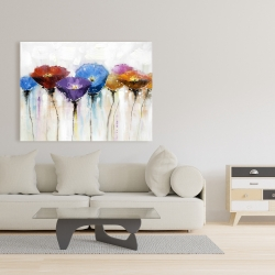 Canvas 36 x 48 - Colorful flowers