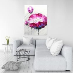 Canvas 36 x 48 - Fuchsia wild flower