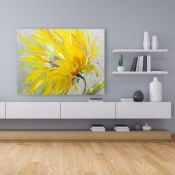 Canvas 36 x 48 - Yellow flower