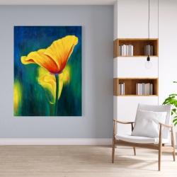 Canvas 36 x 48 - Superb contrast flowers