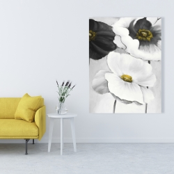 Canvas 36 x 48 - Assorted white flowers