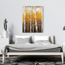 Canvas 36 x 48 - Birches by sunny day