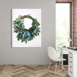 Canvas 36 x 48 - Christmas wreath