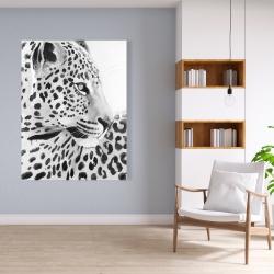 Canvas 36 x 48 - Beautiful leopard