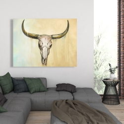 Canvas 36 x 48 - Cow skull