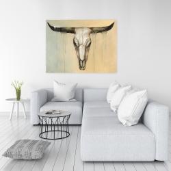 Canvas 36 x 48 - Bull skull