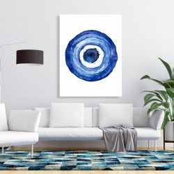 Canvas 36 x 48 - Erbulus blue evil eye