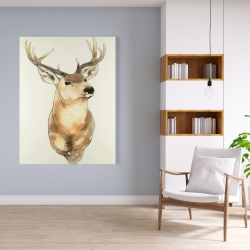 Canvas 36 x 48 - Deer portrait